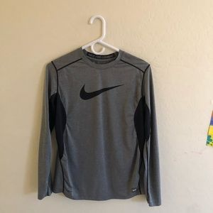 Nike pro combat youth fitted